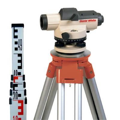 Комплект оптического нивелира David White AL8-32