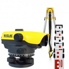 Комплект оптического нивелира NIVOLINE AL18-32