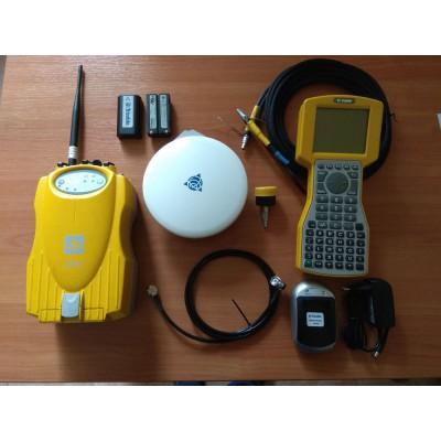 Б/у двухчастотный GPS приемник Trimble 5700 с радиомодемом, контроллером TSC1 с Trimble Survey Controller 7.72